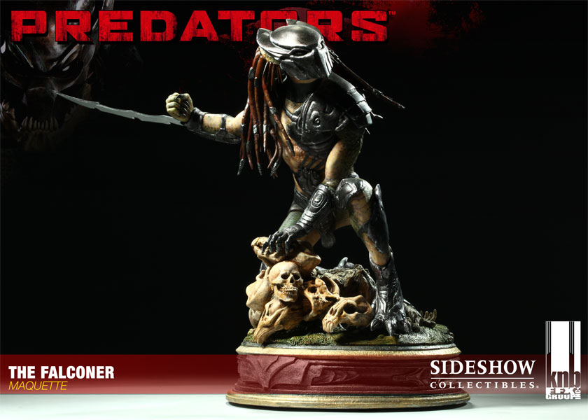 The Falconer Maquette Predators